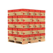 "Staples 8.5"" x 11"" Copy Paper, 20 lbs, 92 Brightness, 500/Ream, 10 Reams/Case, 40 Cases/Pallet (135848-LQO)"