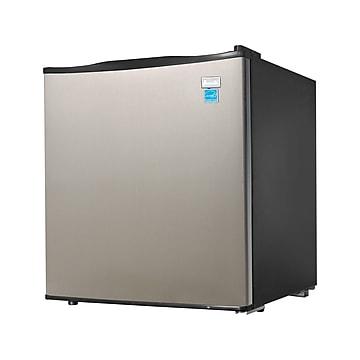 Avanti 1.7 Cu. Ft. Refrigerator, Black/Stainless Steel (AR17T3S)