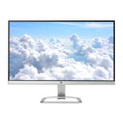 "HP 23er T3M76AA 23"" LED Monitor, White/Silver"
