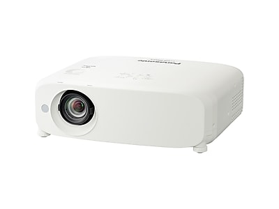 Panasonic PT Business PT-VZ580U LCD Projector, White