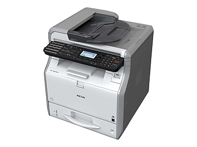 Ricoh SP 3610SF 407305 USB & Network Ready Black & White Laser All-In-One Printer
