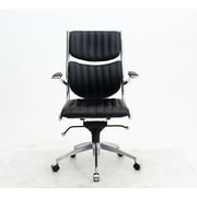 Manhattan Comfort MC-646  Ergonomic High Back Verdi Office Chair in Black