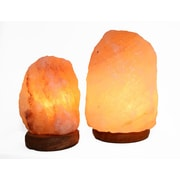 Accentuations by Manhattan Comfort Candelabra Base 15-Watt Bulb  Himalayan Salt Lamp  (2-AMC950235)