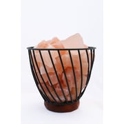 Accentuations by Manhattan Comfort Candelabra Base 15-Watt Bulb  Himalayan Salt Lamp  (AMC95030C)