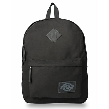 Dickies Classic Canvas Backpack, Solid Black (I-50092-001