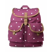 Dickies Gypsy Backpack, Wine Polka Dot (I-00443-559)