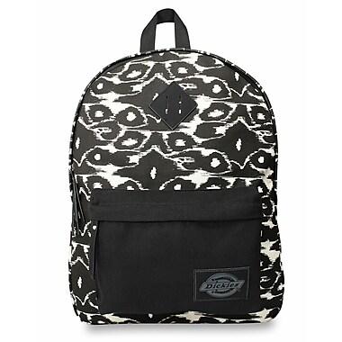 Dickies Classic Canvas Backpack, Black Ikat (I-50092-013)