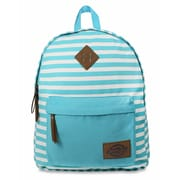 Dickies Classic Canvas Backpack, Blue Lagoon Stripe (I-50092-478)