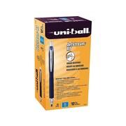 uni-ball JETSTREAM RT Retractable Rollerball Pens, Fine Point, Blue Ink, 12/Pack (62153)