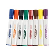 Staples Remarx Dry Erase Markers, Chisel Point, Assorted, 8/Pack (25100)