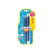 Paper Mate InkJoy Retractable Gel Pens, Medium Point, Blue Inks, 3/Pack (1951730)