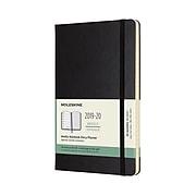 "Moleskine 5"" x 8.5"" Weekly Planner, 18 Month, Large, Hard Cover, Black (MSK629421)"