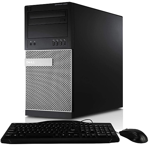 Dell Optiplex 990 Tower Computer, Intel Core i7, 16GB RAM, 512GB SSD,  Includes Keyboard, Mouse, Wifi & HDMI, Refurbished