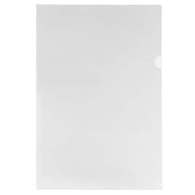 JAM Paper® Plastic Sleeves, Tabloid, 11 3/8