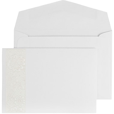 JAM Paper® Wedding Invitation Set, Small, 4 7/8