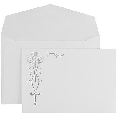 JAM Paper® Wedding Invitation Set, Small, 4 7/8