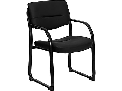 Flash Furniture LeatherSoft Executive Chair, Black (BT-510-LEA-BK-GG)