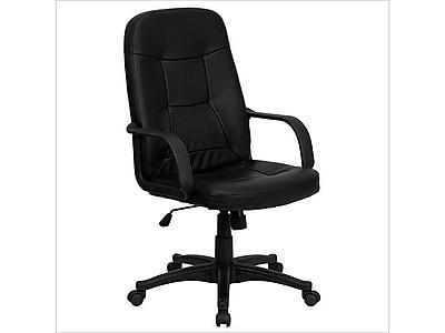 Flash Furniture Vinyl Executive Chair, Black (H8021-GG)
