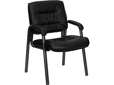 Flash Furniture LeatherSoft Executive Chair, Black (BT-1404-BKGY-GG)