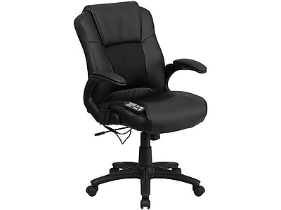 Flash Furniture LeatherSoft Executive Chair, Black (BT-2536P-1-GG)