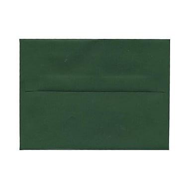 JAM Paper® A2 Invitation Envelopes, 4 3/8 x 5 3/4, Dark Green, 1000/carton (1512744b)