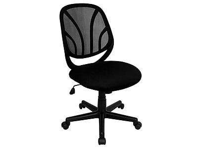 Flash Furniture Y-GO Mesh Task Chair, Black (GO-WY-05-GG)