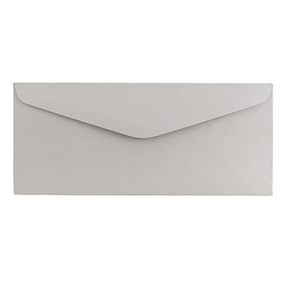 JAM Paper® #11 Business Commercial Envelopes, 4 1/2 x 10 3/8, Grey Kraft, 1000/carton (370031864b)