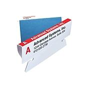 Smead Viewables Premium 3D Hanging Folder Tabs & Labels, White, Bulk Pack (64910)