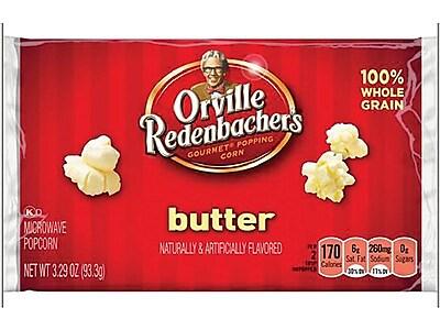 Orville Redenbacher's Popcorn, Butter, 3.29 Oz., 36/Carton