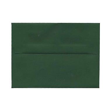 JAM Paper® A6 Invitation Envelopes, 4.75 x 6.5, Dark Green, 1000/carton (3157346b)