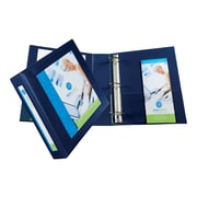 "Avery Heavy Duty 2"" 3-Ring View Binder, Navy Blue (68033)"