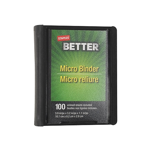 Shop Staples For Staples Better 1-Inch Round 3-Ring Micro