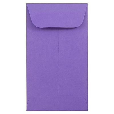 JAM Paper® #6 Coin Envelope, 3 3/8