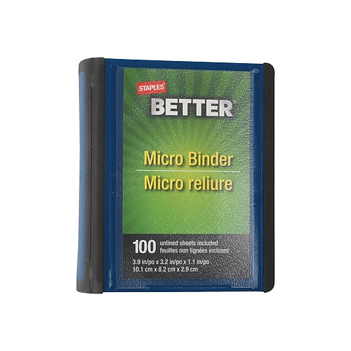 Shop Staples For Staples Better 1-Inch Round-Ring Micro