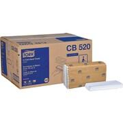 Tork Advanced C-Fold Paper Towel, 1-Ply, 150 Sheets/Pack, 2400 Sheets/Carton (CB520)