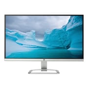 "HP 25er T3M84AA 25"" LED Monitor, White/Silver"