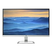 """HP 27er T3M88AA 27"""" LED Monitor, Natural Silver/Blizzard White"""