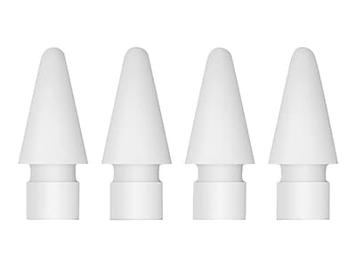 Apple MLUN2AM/A Replacement Tip for Apple Pencil, White, 4/Pack