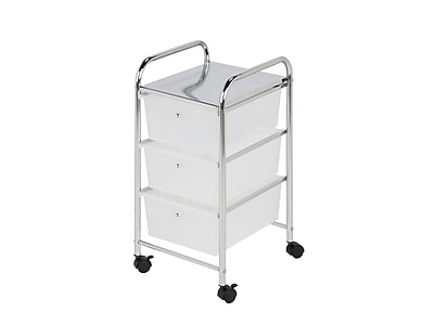 Exceptionnel Honey Can Do 3 Drawer Plastic Storage Drawer Cart | Staples