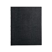 """Blueline Pink Ribbon/NotePro Professional Notebook, 9.25"""" x 7.25"""", College Ruled, 75 Sheets, Black (A7150.BLK)"""