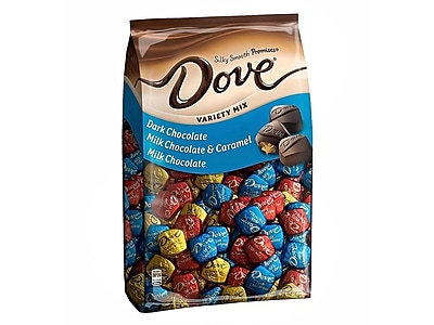 DOVE PROMISES Chocolate Candy, 43 oz Variety Mix Bag (209-00380)