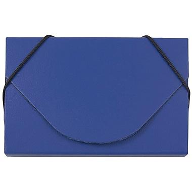 JAM Paper - Étui pour cartes professionnelles, bleu mat (369031715)