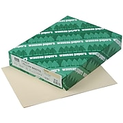 "Exact Vellum Bristol Cardstock Paper, 67 lbs, 8.5"" x 11"", Ivory, 250/Pack (82361)"