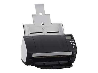 Fujitsu fi-7160 Deluxe Bundle CG01000-286401 Desktop Scanner, Black