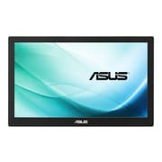 "ASUS MB169B+ 15.6"" LED Monitor, Black/Silver"