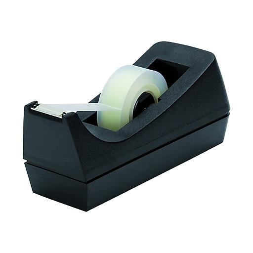 Staples Desktop Tape Dispenser Black Staples