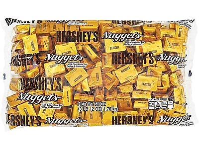Hershey's Nuggets, Extra Creamy Milk Chocolate with Toffee and Almonds, 60 oz. (HEC01685)