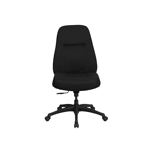 Flash Furniture Hercules Series 400 Lb Capacity High Back And Tall Fabric Office Chair With Extra Wide Seat Black Staples