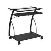 Ameriwood Home Sheldon Mobile Computer Desk, Black (9378196)