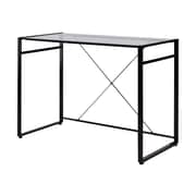 "Staples Axis 42"" Workstation Desk, Black (27910)"